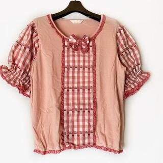 ピンクハウス(PINK HOUSE)のピンクハウス 半袖カットソー サイズM -(カットソー(半袖/袖なし))