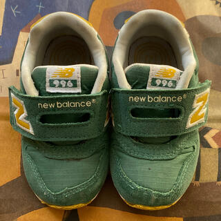 ニューバランス(New Balance)のニューバランス New Balance 996 13.5cm グリーン(スニーカー)