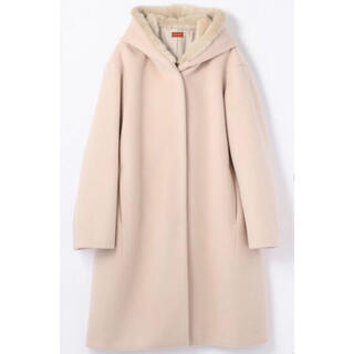 TOMORROWLAND - DES PRES ウールビーバーメルトン フーデッドコート ¥70,400