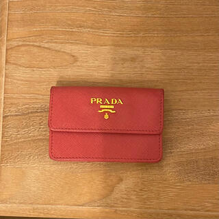 プラダ(PRADA)のPRADA 名刺入 カードケース(名刺入れ/定期入れ)