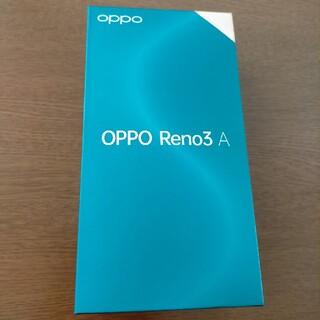 ANDROID - OPPO Reno3 A 6GB 128GB SIMフリー デュアルsim
