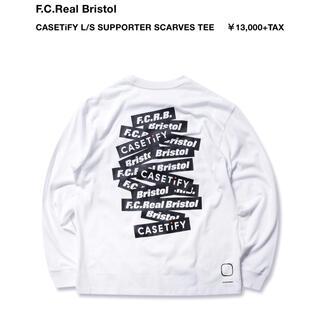 エフシーアールビー(F.C.R.B.)のFCRB CASETiFY L/S Tee ロンT Tシャツ L(Tシャツ(長袖/七分))