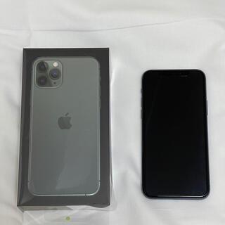 Apple - Apple iPhone 11pro 256GBミッドナイトグリーンSIMフリー