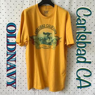 オールドネイビー(Old Navy)のOLDNAVYオールドネイビーUS限定CaliSurfCityデザイン Tシャツ(サーフィン)