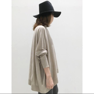L'Appartement DEUXIEME CLASSE - T/N Volume knit ベージュ