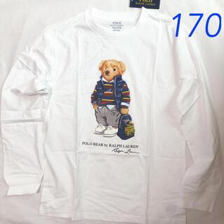 ポロラルフローレン(POLO RALPH LAUREN)のラルフローレン ポロベア コットンTシャツ ボーイズXL/170(Tシャツ/カットソー(七分/長袖))