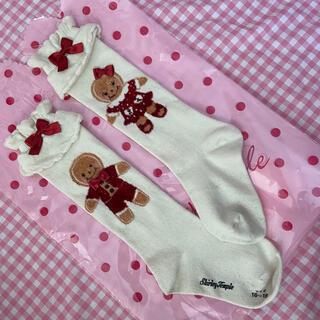 Shirley Temple - シャーリーテンプル  お菓子のおうち ジンジャーマン 靴下