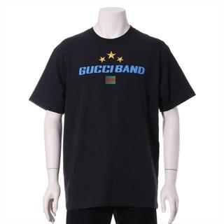 グッチ(Gucci)のグッチ  コットン M ブラック メンズ その他トップス(その他)