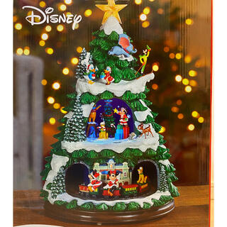 Disney - ディズニー クリスマスツリー オルゴール 当日発送