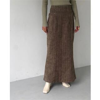 TODAYFUL - TODAYFUL ジャガードストライプスカート
