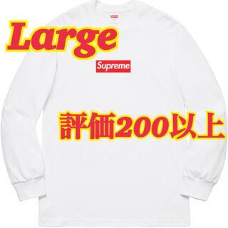 Supreme - Large Supreme Box Logo L/S Tee
