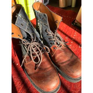 グラム(glamb)のglambブーツ インディゴ(ブーツ)
