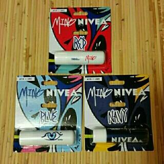 ニベア(ニベア)の韓国NIVEA♡MINO EDITION 3種セット(リップケア/リップクリーム)