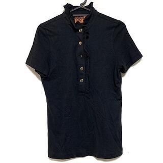 トリーバーチ(Tory Burch)のトリーバーチ 半袖ポロシャツ サイズS美品 (ポロシャツ)