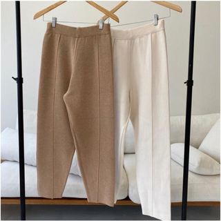 TODAYFUL - lawgy simple knit pants