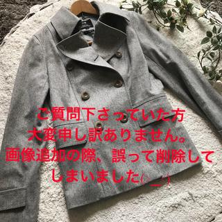 ニジュウサンク(23区)の♡23区グレーPコート ピーコート♡(ピーコート)