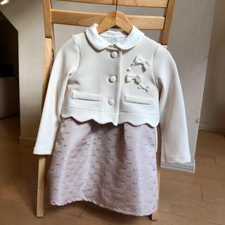 ナチュラルビューティーベーシック(NATURAL BEAUTY BASIC)のNATURAL BEAUTY BASIC120センチ入学式スーツ(ドレス/フォーマル)