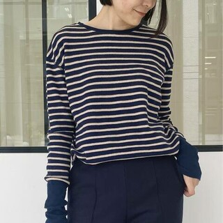 L'Appartement DEUXIEME CLASSE - 【GOOD GRIEF/グッドグリーフ】Border Thermal Top