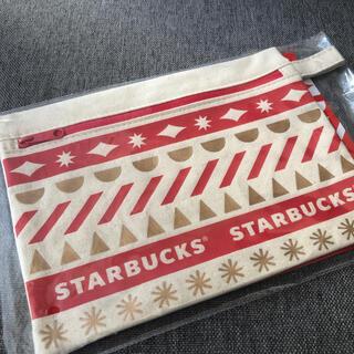 Starbucks Coffee - スタバホリデー 2020ノベルティポーチ ★未開封★ ポーチ スタバ