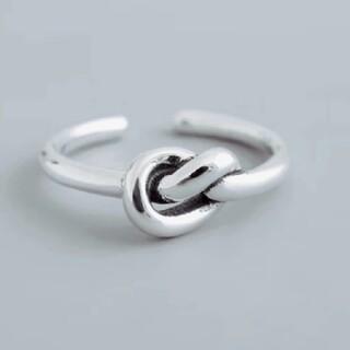 TODAYFUL - 結び デザインリング 指輪 シルバー