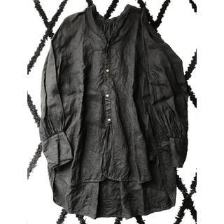 ENFOLD - ナゴンスタンス♡フレンチリネンスタンドカラーシャツ