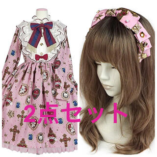 Angelic Pretty - Noble CollectionワンピースSet