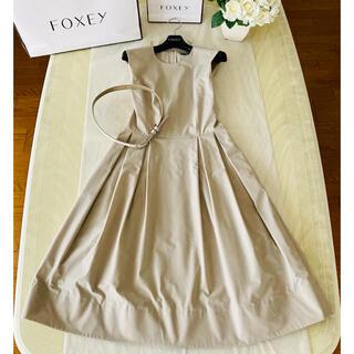 FOXEY - フォクシー ベルト付き プリンセスドレス ワンピース
