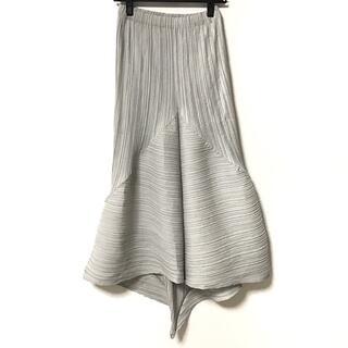 イッセイミヤケ(ISSEY MIYAKE)のイッセイミヤケ ロングスカート サイズM -(ロングスカート)