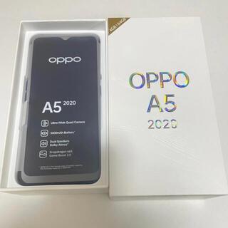 ANDROID - OPPO A5 2020 オッポ A5 グリーンSIMフリー
