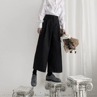 STUDIOUS - [新品] 2tuck wide ankle pants    #No.23