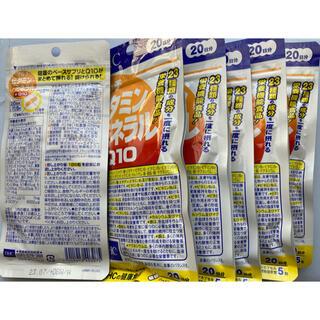 ディーエイチシー(DHC)のDHC マルチビタミン/ミネラル+Q10 20日分×6個(ビタミン)