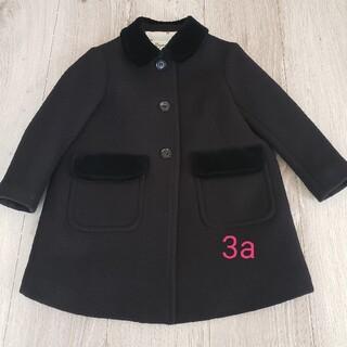 Bonpoint - ボンポワン ウールコート コート チェリー 通園コート お受験コート