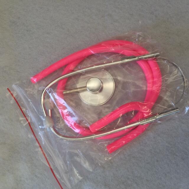 scopepk 聴診器 ハロウィン コスプレ ナース 仮装 グッズ ピンク エンタメ/ホビーのコスプレ(小道具)の商品写真