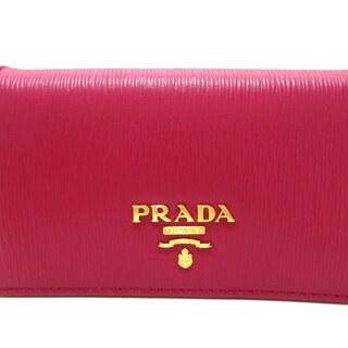 プラダ(PRADA)のPRADA(プラダ) 名刺入れ美品  - 1MC122(名刺入れ/定期入れ)
