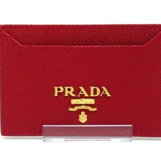 プラダ(PRADA)のPRADA(プラダ) カードケース美品  - 1MC208(名刺入れ/定期入れ)