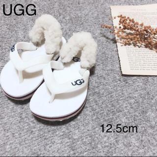 アグ(UGG)のUGG ベビーサンダル12.5(サンダル)