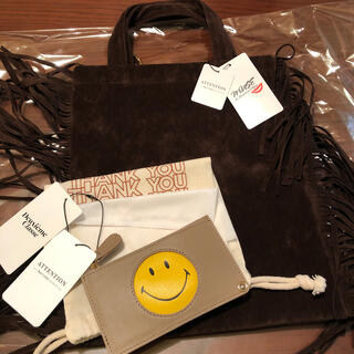 DEUXIEME CLASSE - MUSE フリンジトート& SMILE コインパース