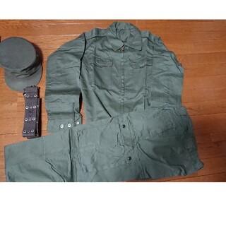 自衛隊 防衛省 作業服  上下 ミリタリー  未使用  桜マーク  サイズ特号 (戦闘服)