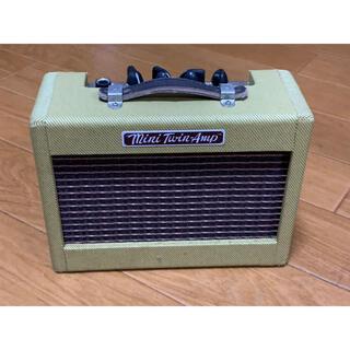 フェンダー(Fender)のfender ミニツインアンプ(ギターアンプ)