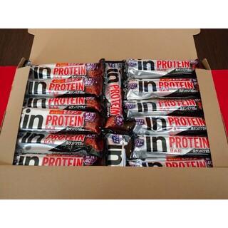 モリナガセイカ(森永製菓)のinバープロテイン ベイクドビター 18本セット(プロテイン)