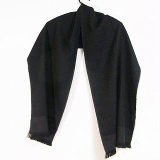 トゥミ(TUMI)のTUMI(トゥミ) マフラー 黒 ウール(マフラー/ショール)