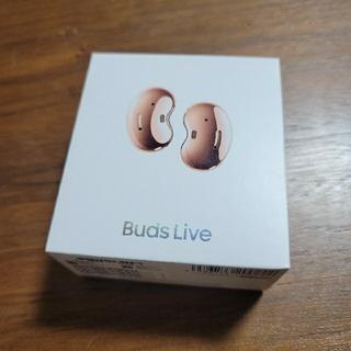 Galaxy - 【新品・未開封・正規品】Galaxy Buds Live ミスティックブロンズ
