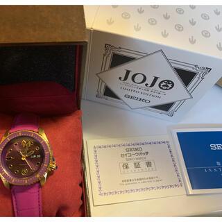 セイコー(SEIKO)のSEIKO ジョルノジョバーナ ジョジョ(腕時計(アナログ))