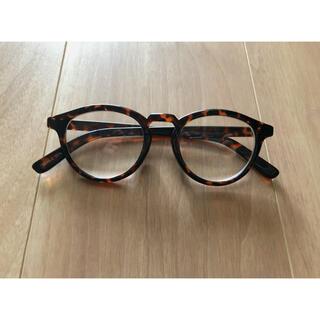 べっこう柄 伊達眼鏡