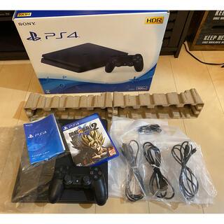 プレイステーション4(PlayStation4)のPS4 本体 カセット付き(家庭用ゲーム機本体)