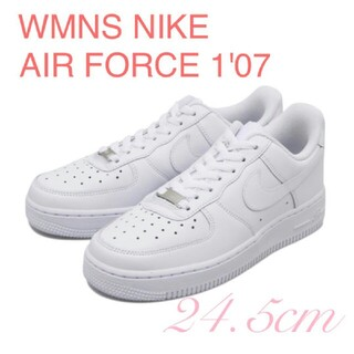 NIKE - WMNS NIKE AIR FORCE 1'07 エアフォース1 24.5cm
