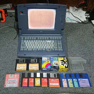 エヌイーシー(NEC)のワープロ NEC JX-S300(オフィス用品一般)