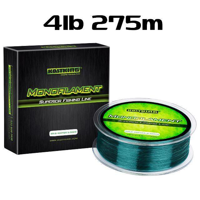 KastKing グリーン 4lb 275m ナイロンライン カストキング スポーツ/アウトドアのフィッシング(釣り糸/ライン)の商品写真