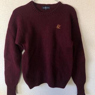ポロラルフローレン(POLO RALPH LAUREN)のwine red knit(ニット/セーター)