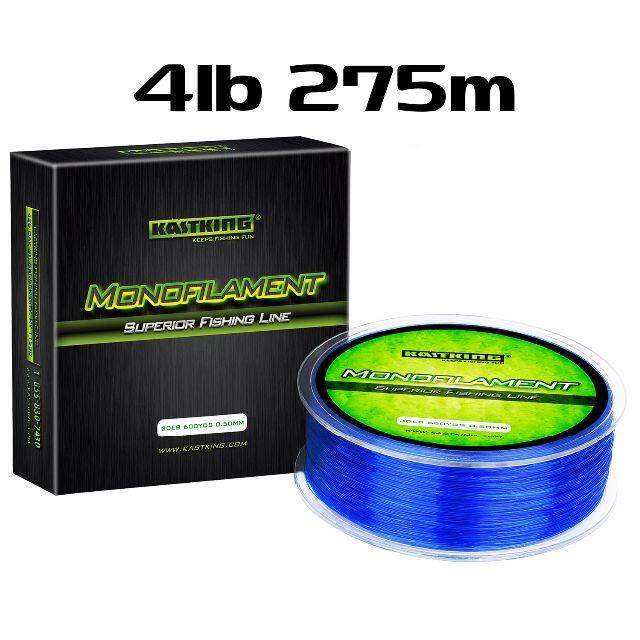 KastKing ブルー 4lb 275m ナイロンライン カストキング スポーツ/アウトドアのフィッシング(釣り糸/ライン)の商品写真